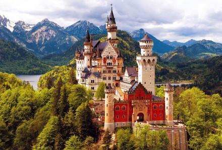 dvorci bavarske nojsvanstajn
