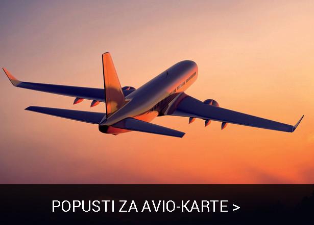 Popusti na avio-karte